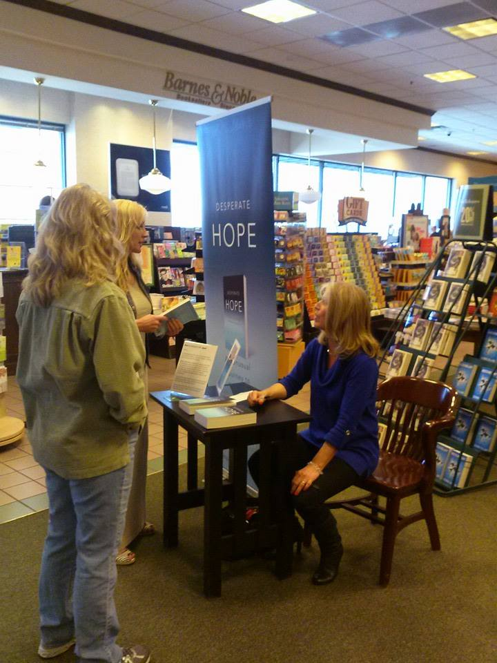 Barnes and Noble signing