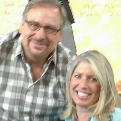 Telling the story to Rick Warren