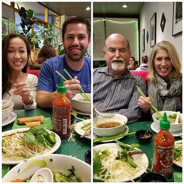 Thanks @ryanpauly3 and @emilyqta for introducing us to an un-pho-gettable taste treat! #phoisdelicious