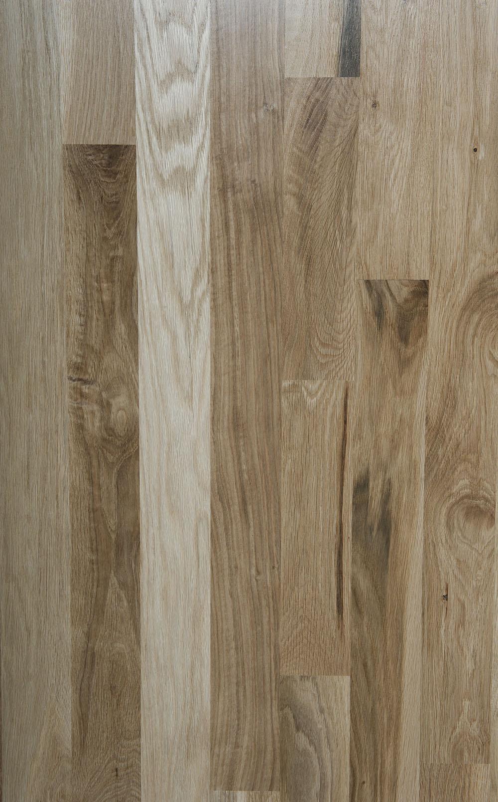 Unfinished White Oak Boardwalk Hardwood Floors