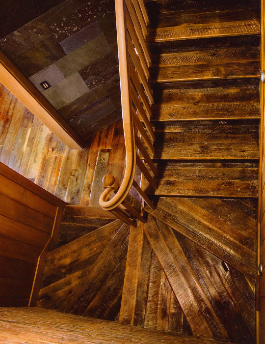 Wooden Stair Parts   Reclaimed
