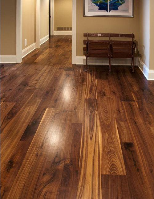 Traditional Walnut Boardwalk Hardwood Floors