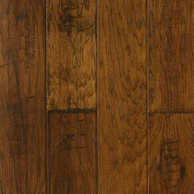 Hand Scraped Hickory Boardwalk Hardwood Floors