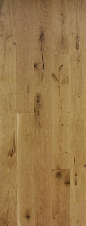 Hand Scraped White Oak Boardwalk Hardwood Floors