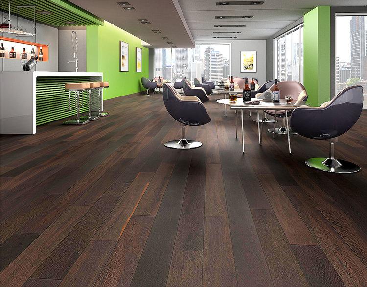 Black Oak Boardwalk Hardwood Floors