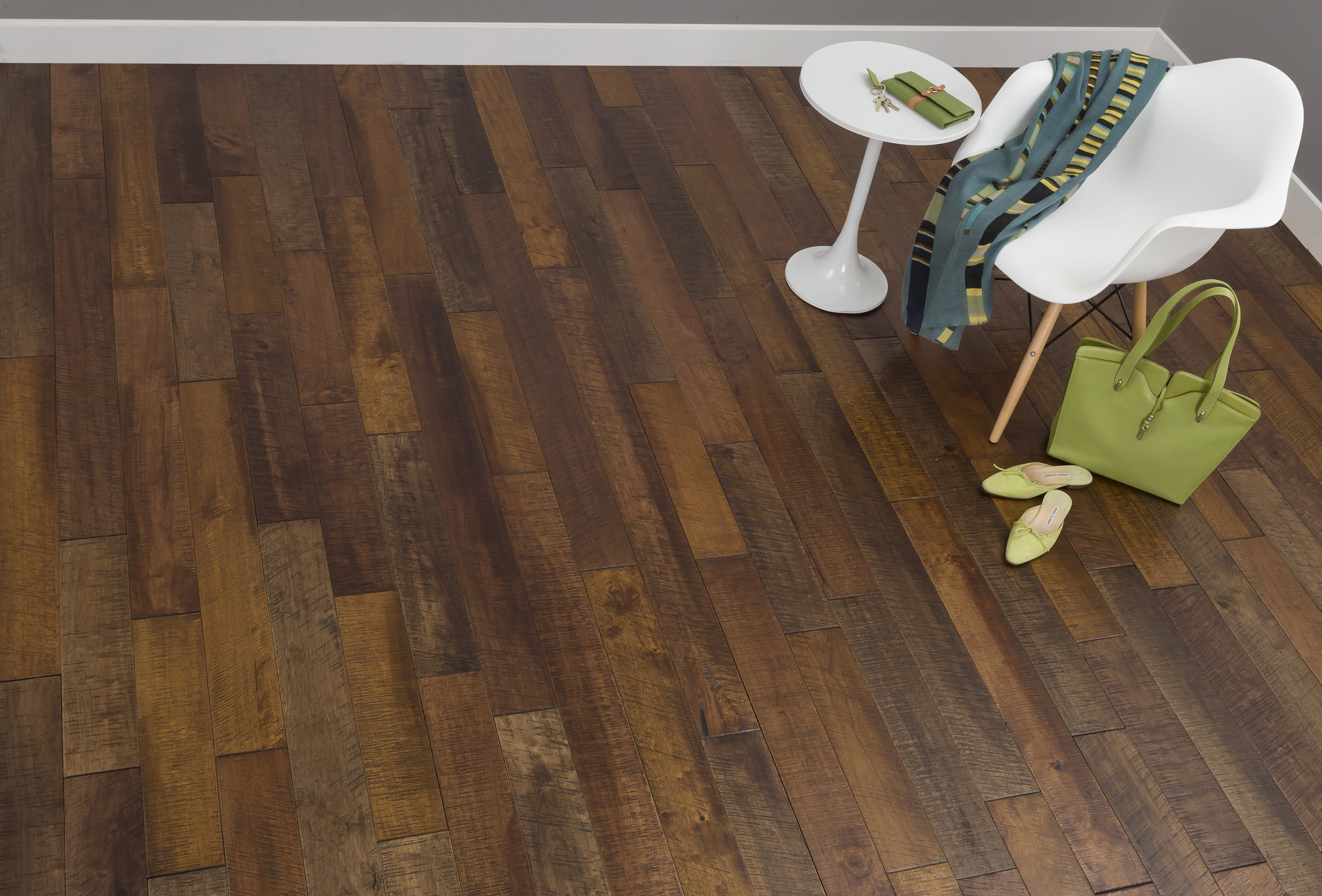 Prater S Mill Mixed Color Boardwalk Hardwood Floors