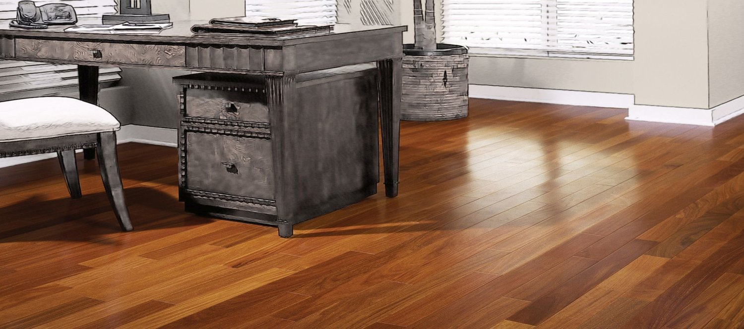 Brazilian Teak Natural — Boardwalk Hardwood Floors