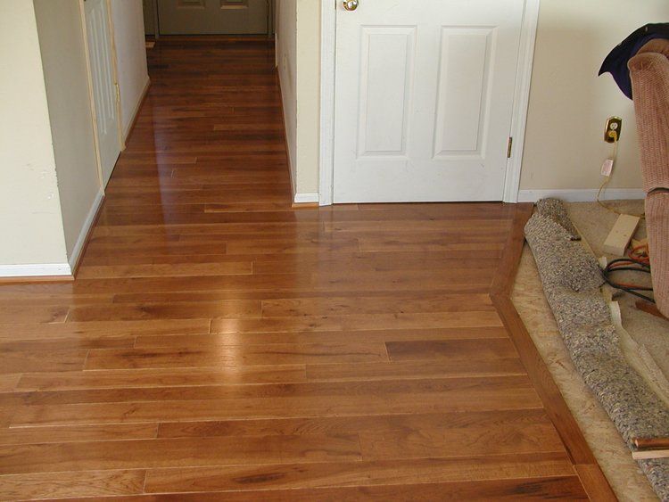Coffee Hickory Boardwalk Hardwood Floors