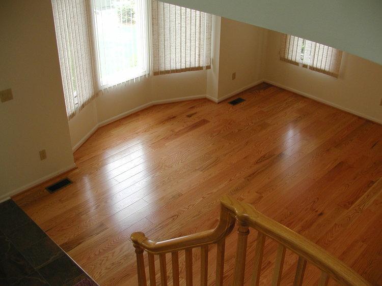 Clear Water Red Oak Boardwalk Hardwood Floors