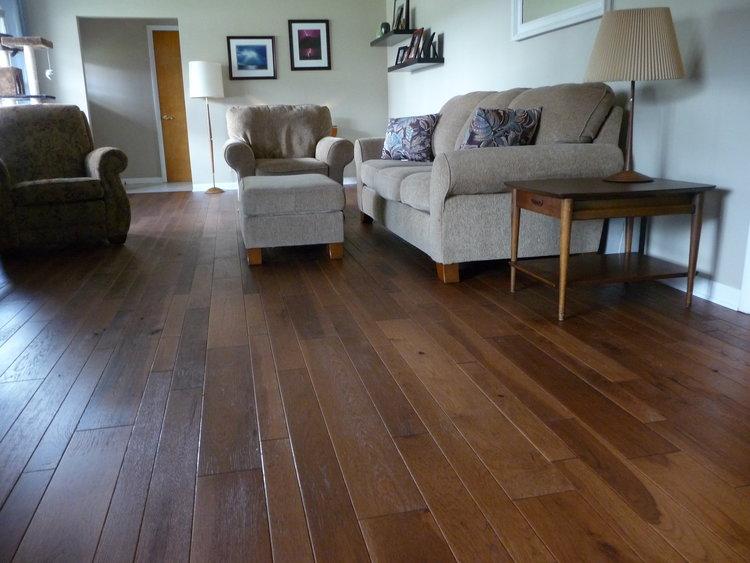 Copper Canyon Hickory Boardwalk Hardwood Floors