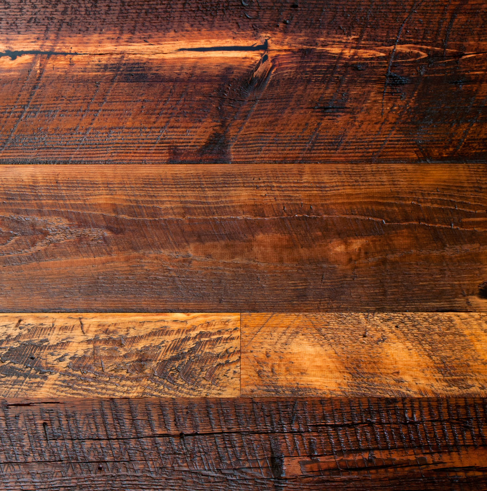 Antique Tobacco Pine Boardwalk Hardwood Floors