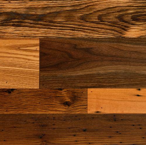 Antique Oak Trophy Room Boardwalk Hardwood Floors