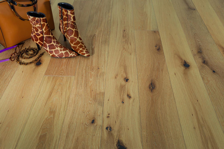 Nouvelle Plank French White Oak Boardwalk Hardwood Floors