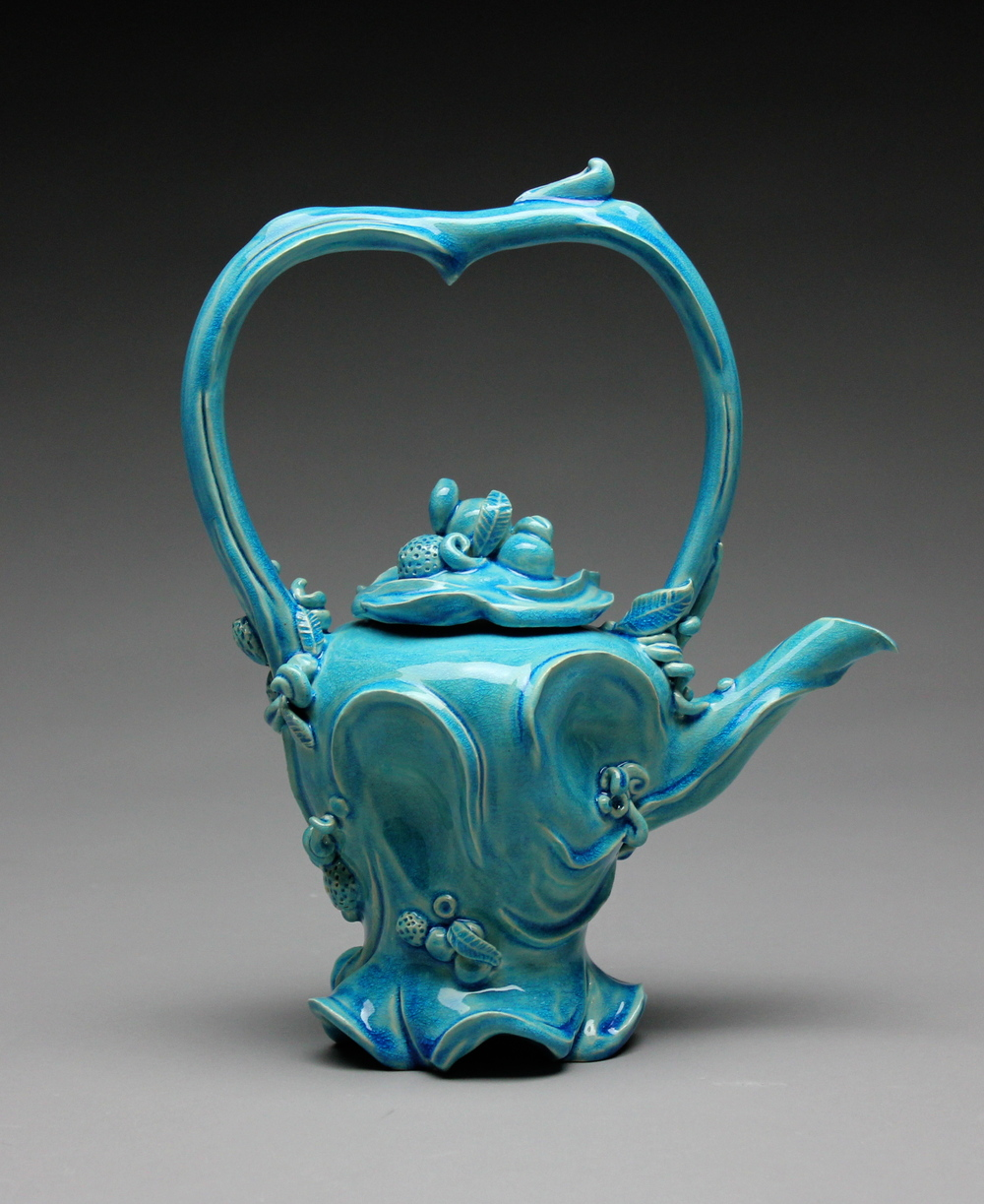 Rhythmic Wave Teapot