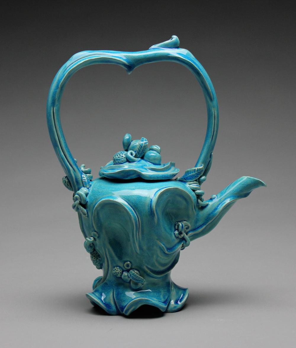 Rhythmic Wave Teapot
