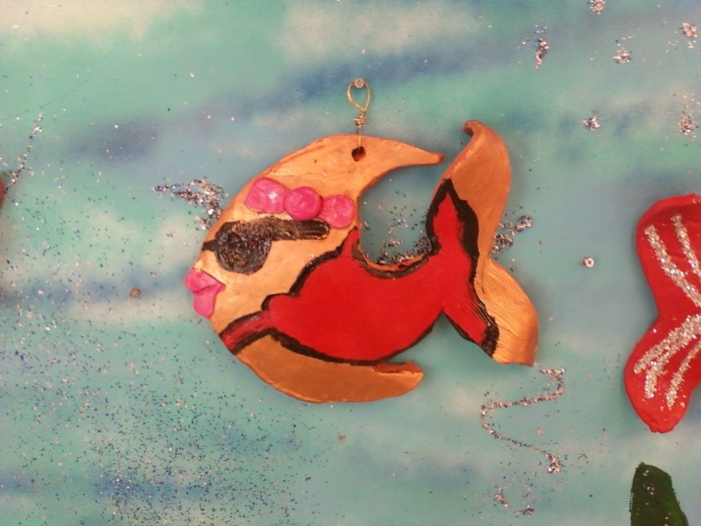 Ceramic fish - middle school