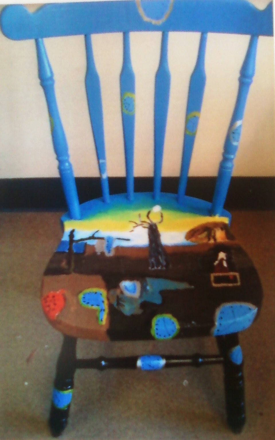 """8th Grade Chair Project"" - Study of Surrealism"