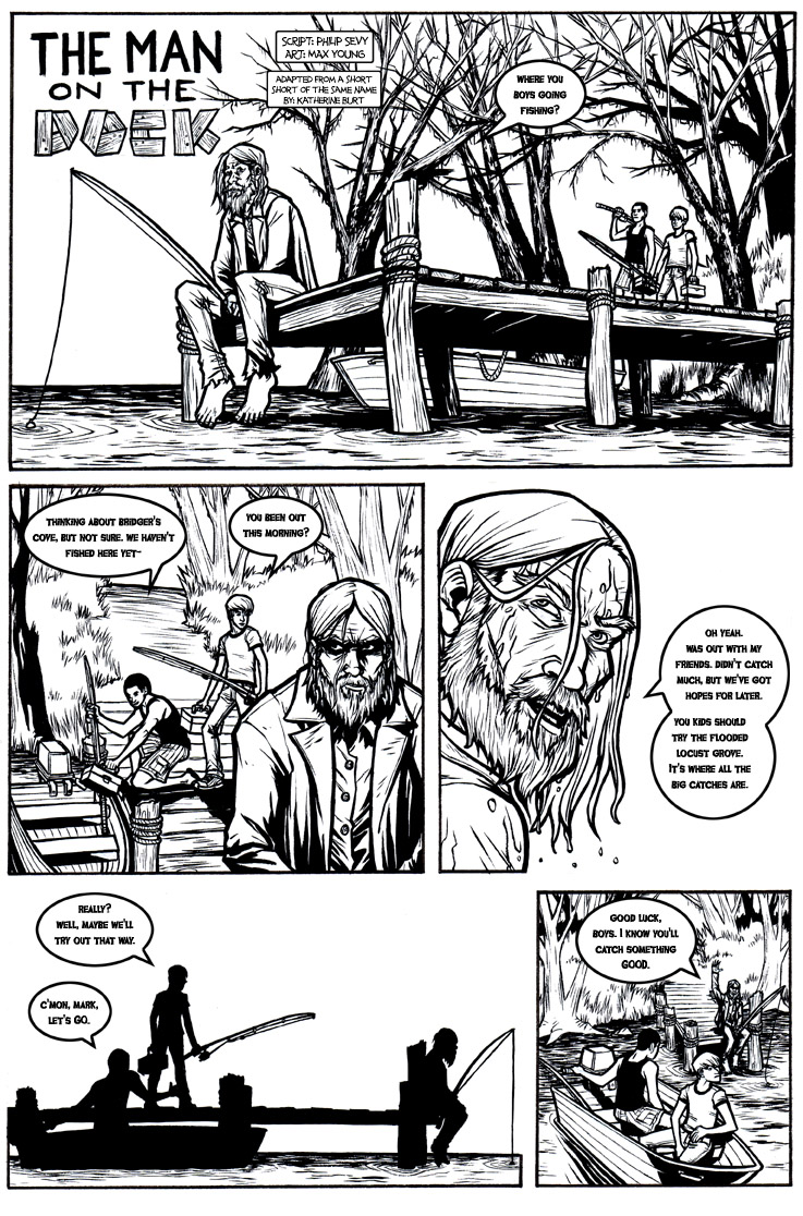 The Man on the Dock, Page 1