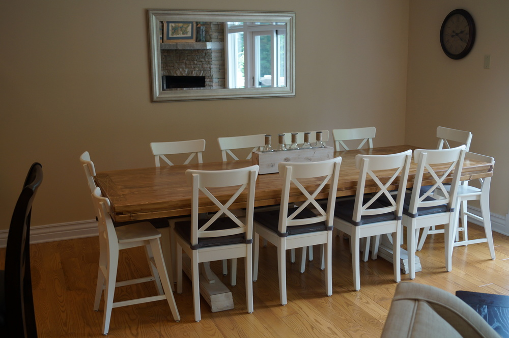 Main Floor - Dining Room Table