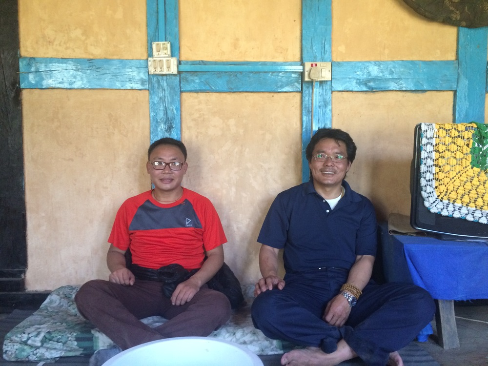 Sumjay and Dorji (left to right)
