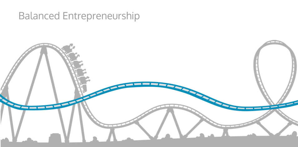By the end of this training, it is our hope that your entrepreneurial rollercoaster will begin to feel like the blue rollercoaster