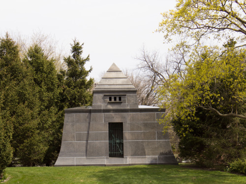 Ryerson's Pyramid Hut. Hut design by Louis Sullivan of So-So Sully's Huts-n-Stuff.
