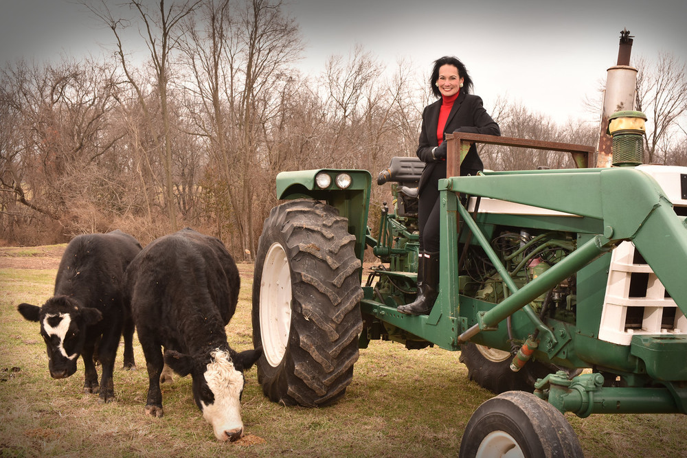 From her farm to your table.