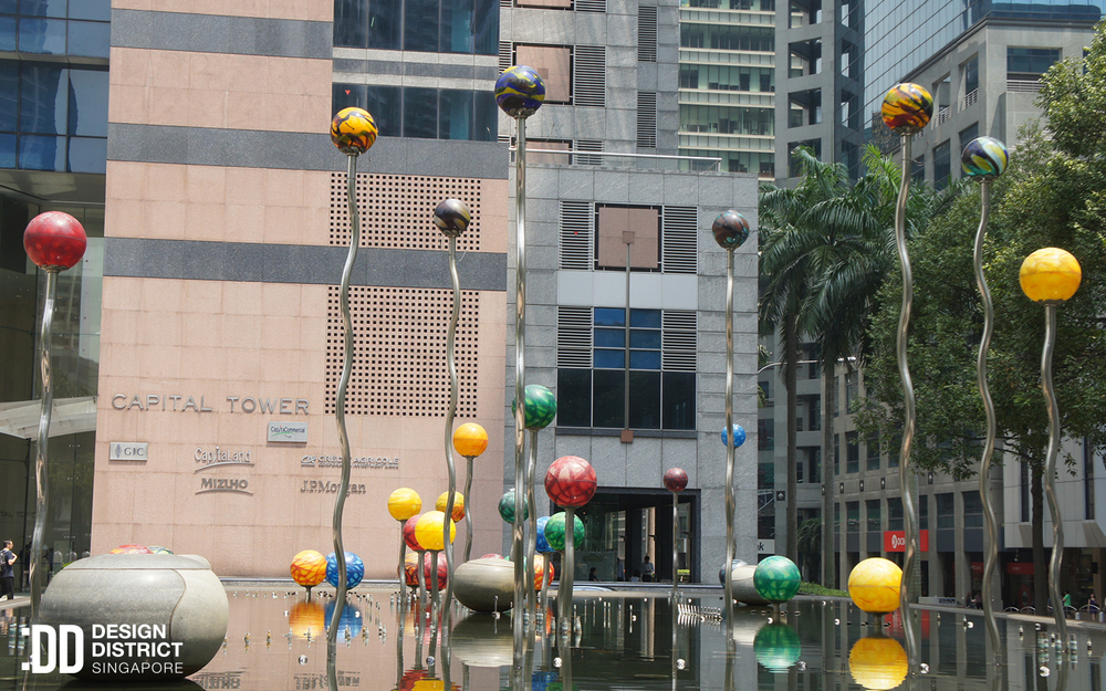 Shimmering Pearls - Design District SIngapore