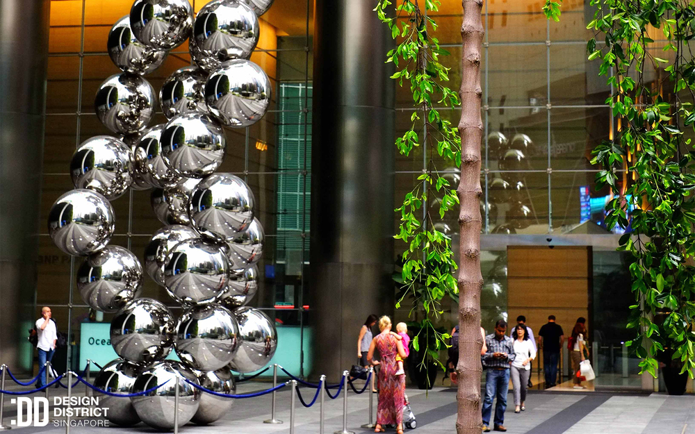 Tall Tree In The Eye - Design District SIngapore
