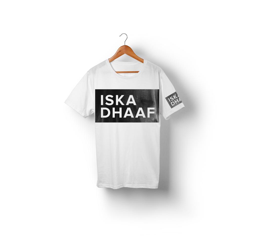 Iska Dhaaf White T-Shirt