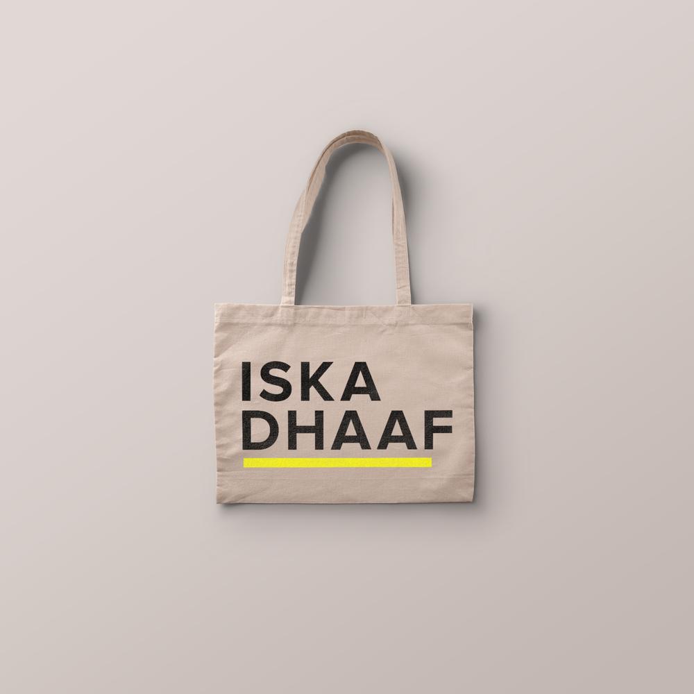 Iska Dhaaf Tote Bag
