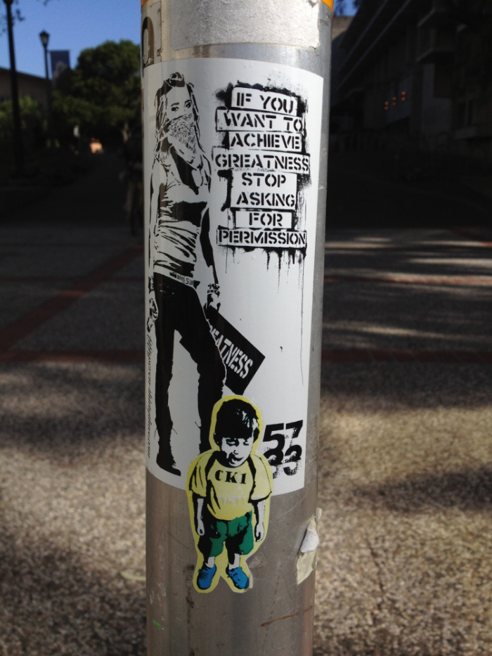 Image found at UC Berkeley campus and attributed to Eddie Colla