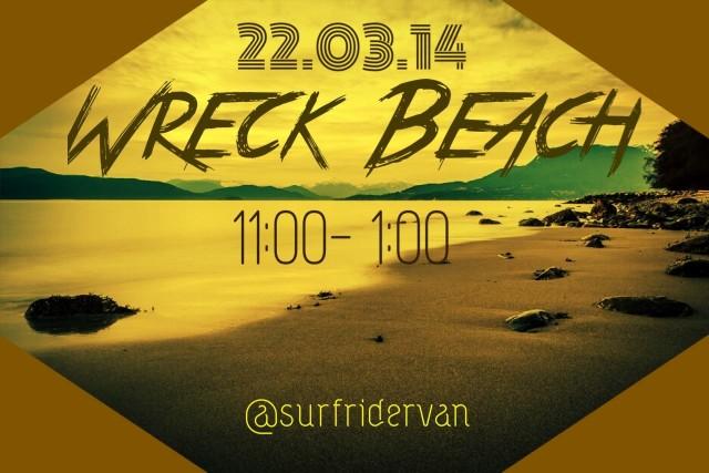 wreck beach cleanup