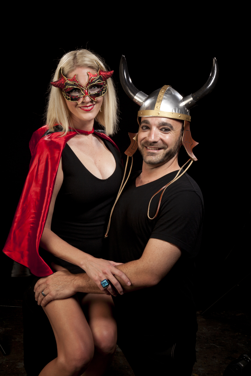 Mr and Mrs Horned hat IMG_4409.jpg