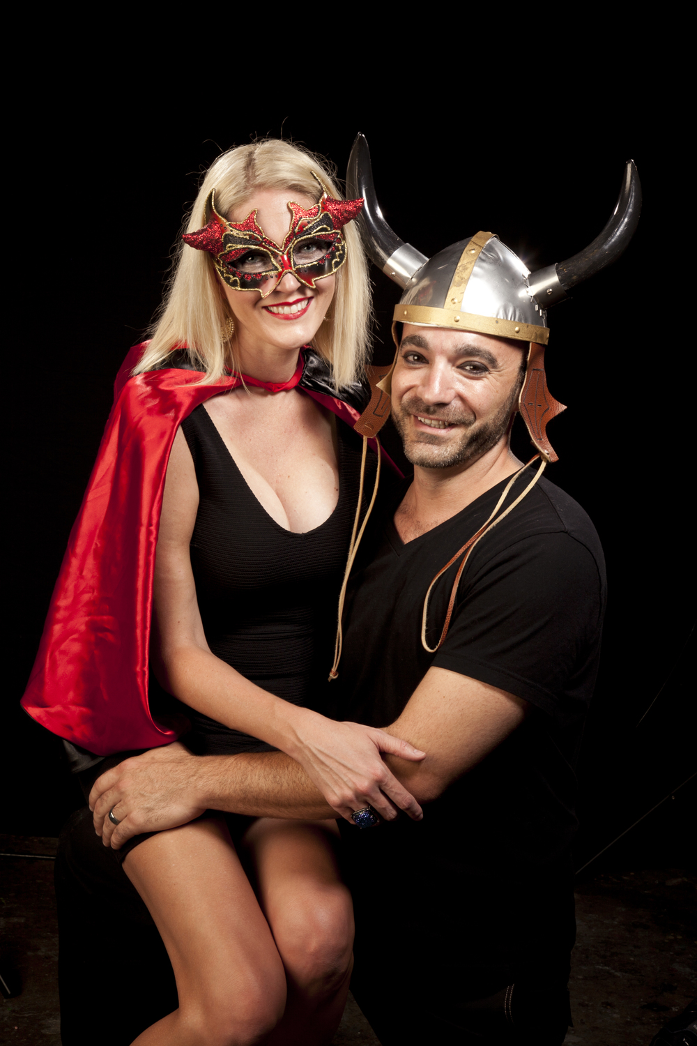 Mr and Mrs Horned hat IMG_4413.jpg