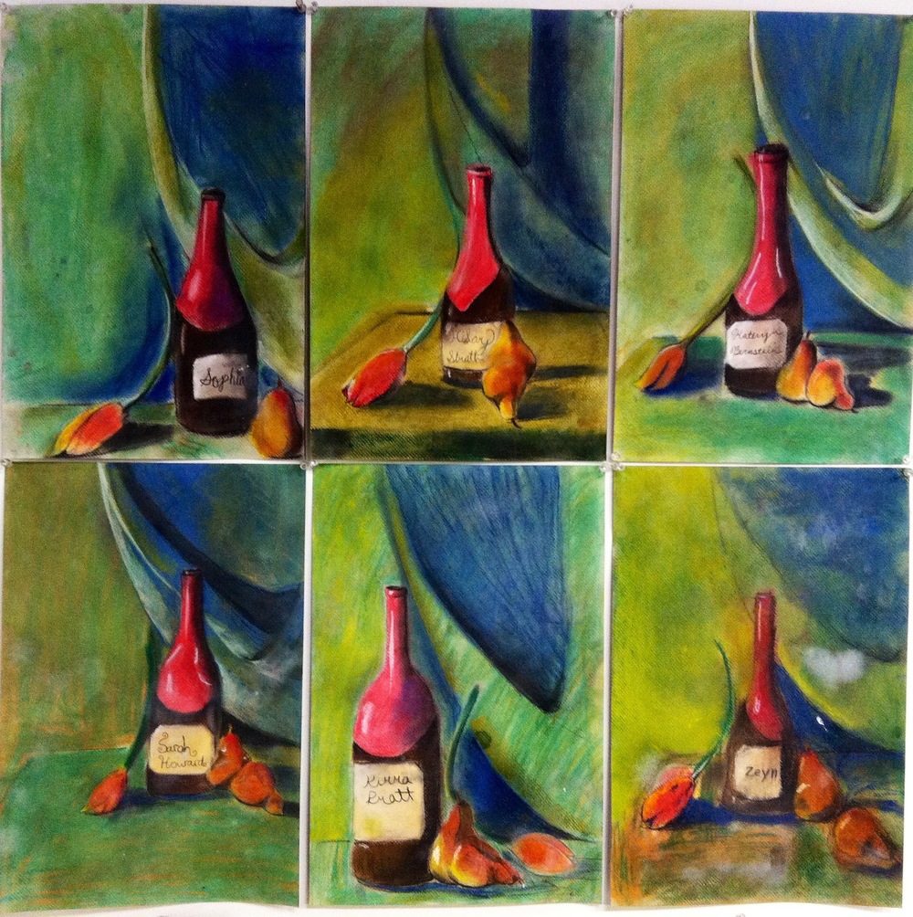 6 Variations of Still Life Grades 1-4
