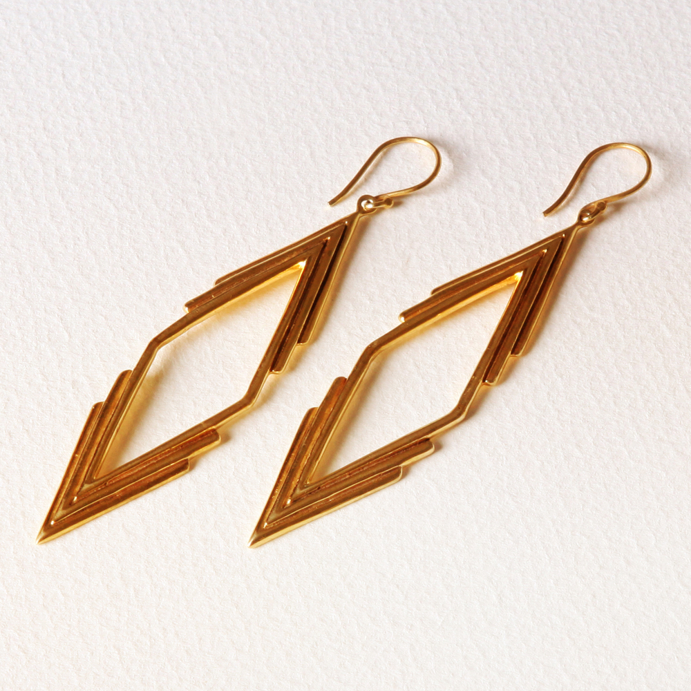 YW-E04-A  Triple V Diamond Earrings.jpg