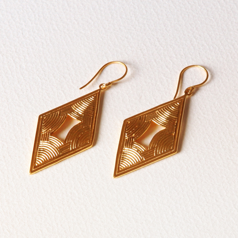 YW-E013  Multi Rainbow Diamond Earrings.jpg