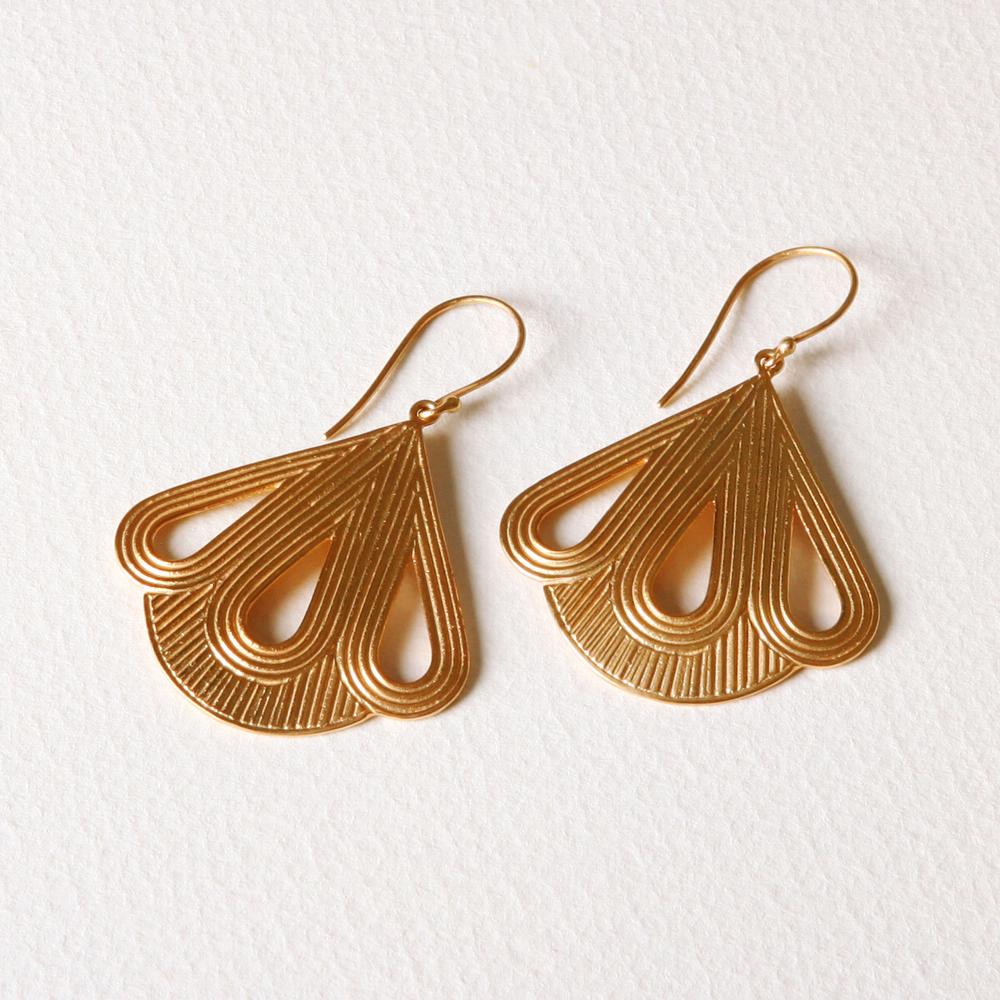 YW-E021  Triple Teardrop Earrings.jpg