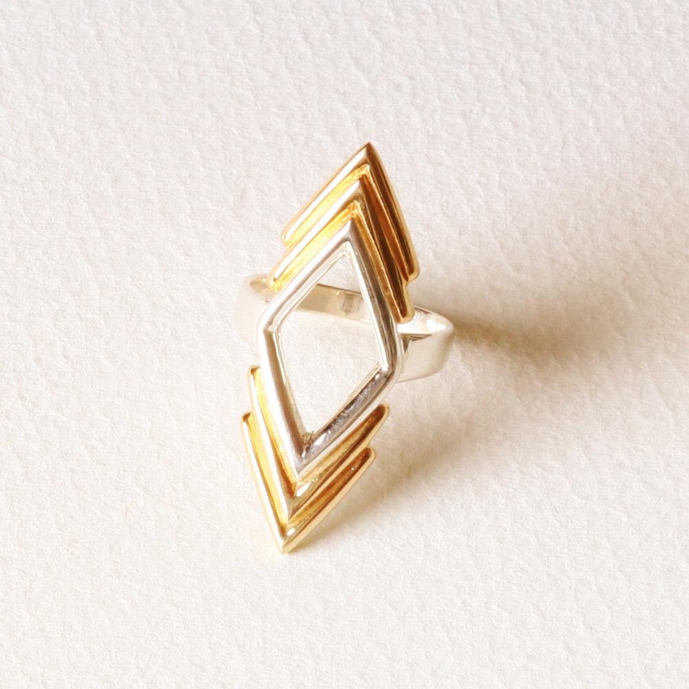 YW-R04  Triple V Diamond Ring.jpg