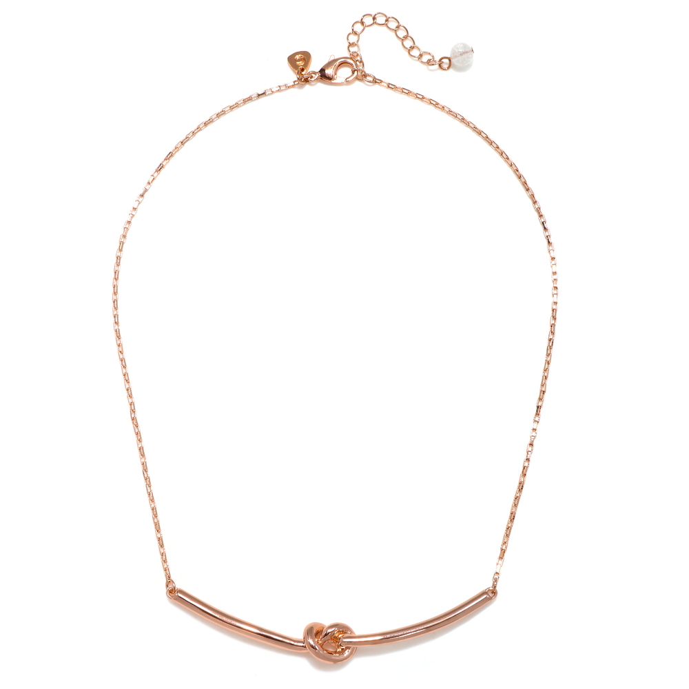 Rose Gold Why Knot Necklace.jpg