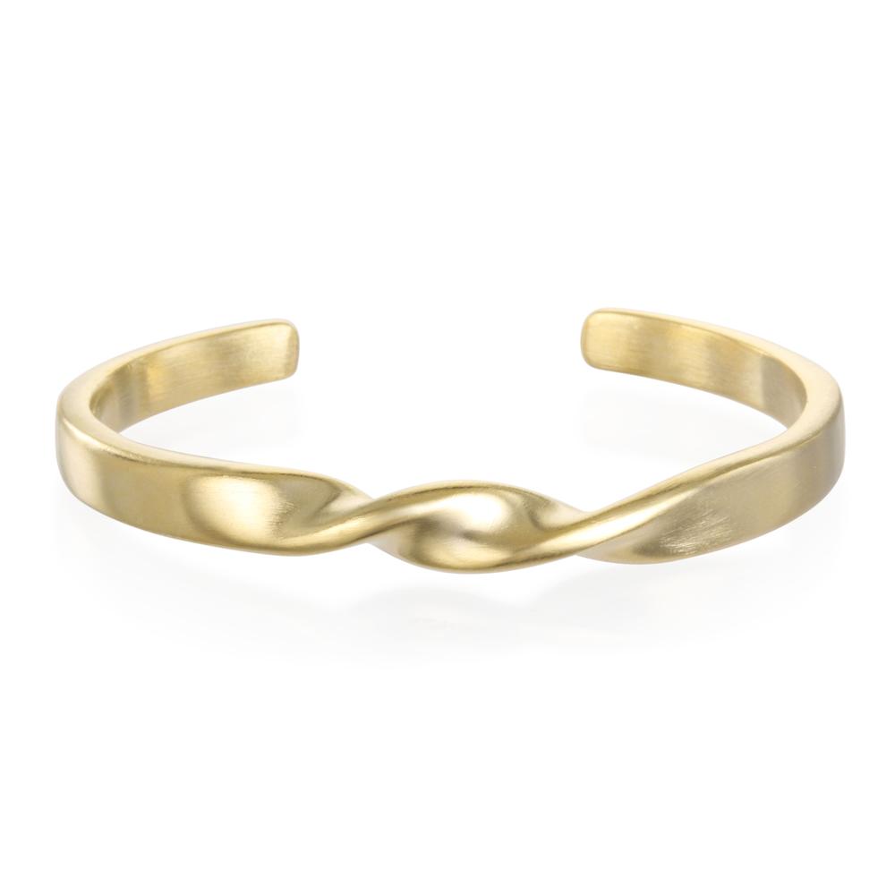 Matte Gold Plot Twist Cuff.jpg