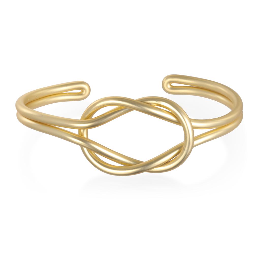 Matte Gold Why Knot Cuff.jpg