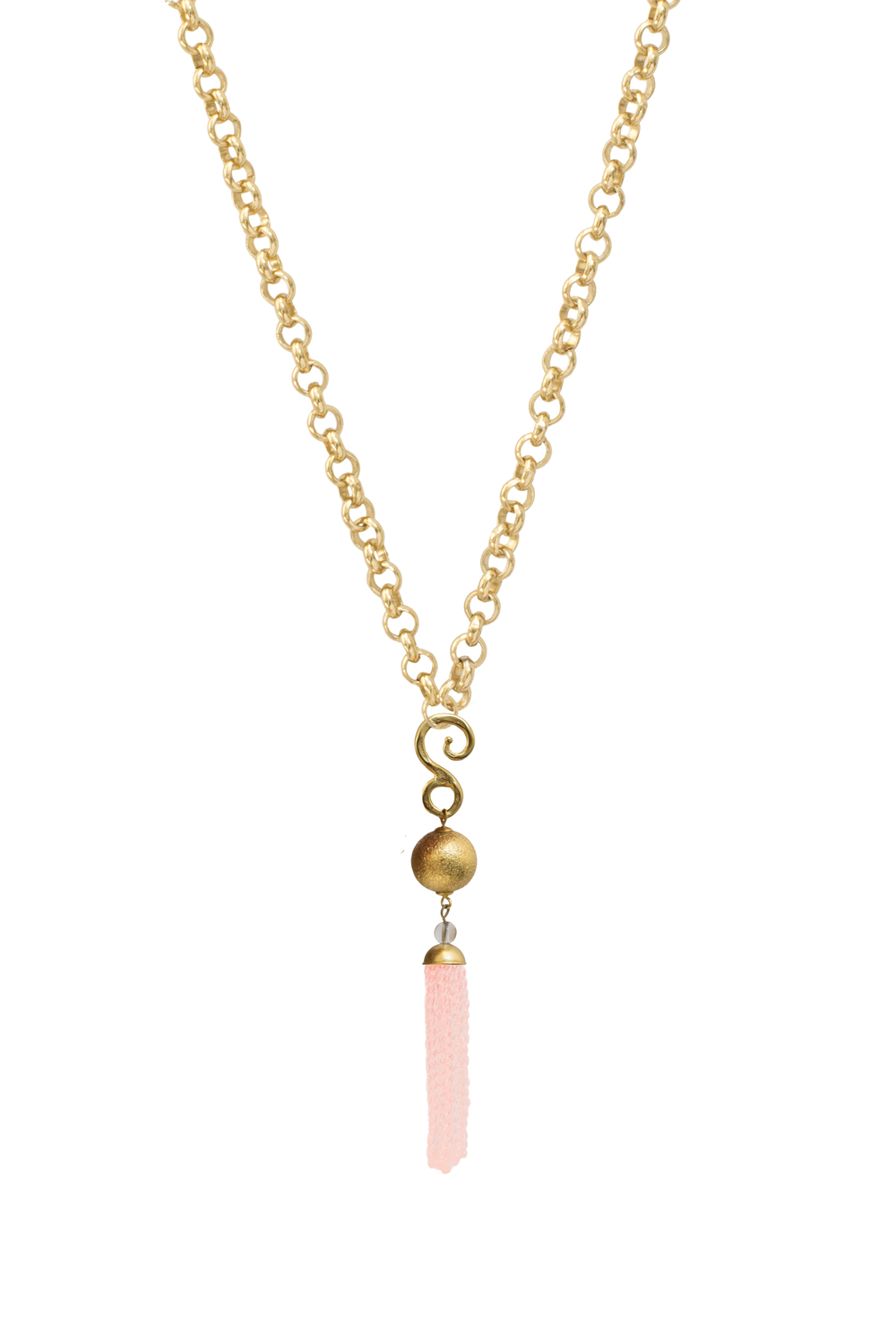 Sphere Tassel - Rose Quartz.jpg