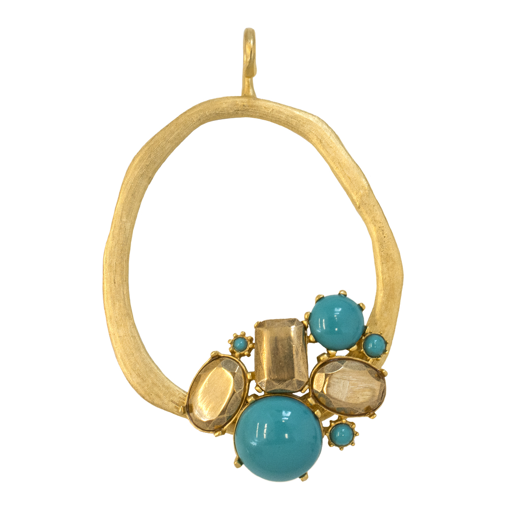 Aqua Luxury - Green Turquoise Resin _ Bronze Metal Stone.jpg