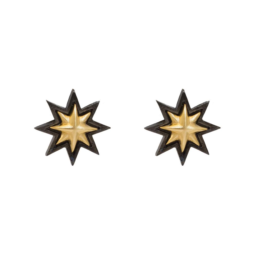 Sunburst Single - Charcoal & Gold.jpg