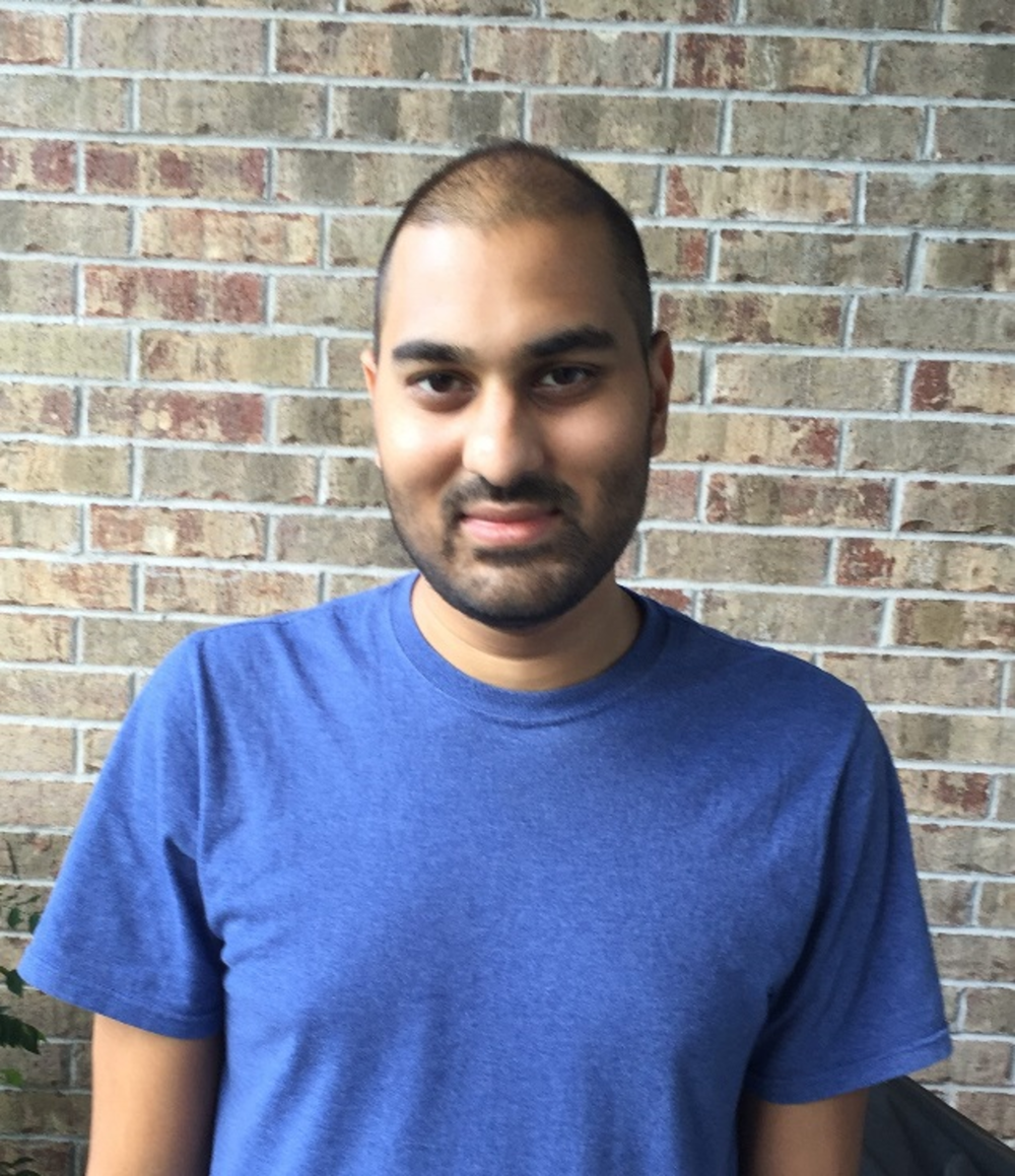 "Raghav Shroff - ""I am a current graduate student in the Cell and Molecular Biology program having previously completed my undergraduate degree at Rice University. My research involves using artificial intelligence to better inform protein design."""