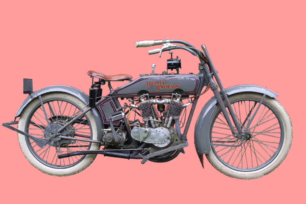 Model 17-F is a 61 ci (1000 cc) 16 HP