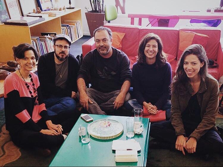Coletivo Rádio Radical: Bianca Binazzi, Julio de Paula, Amadeu Zoe, Débora Pill e Roberta Martinelli
