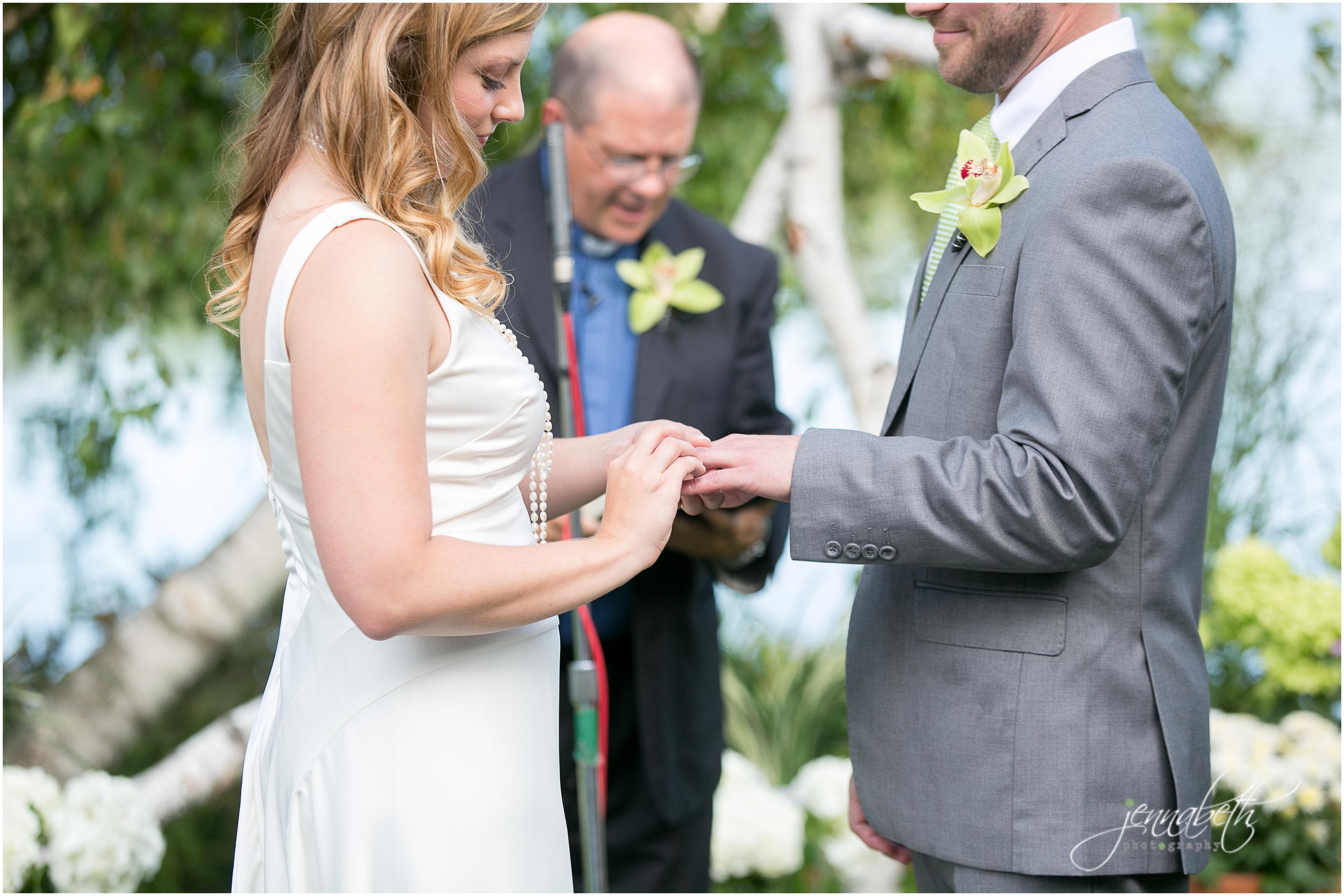 Kelly + Brian Wedding - Destination Minneapolis Lake Wedding ...